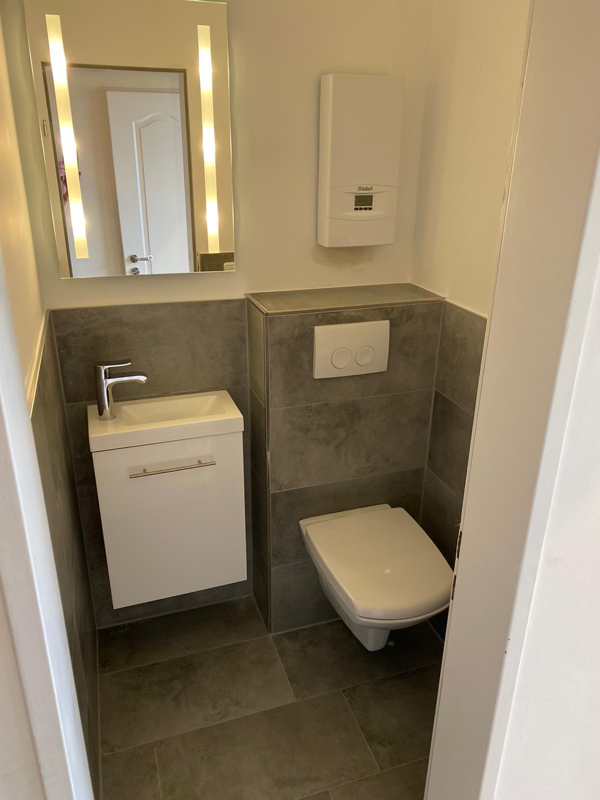 Gäste WC Umbau Image